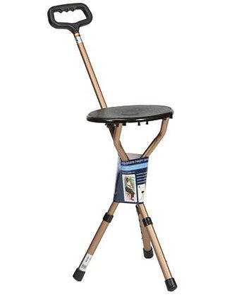 Adjustable Cane Seat Stick SWL 115kg