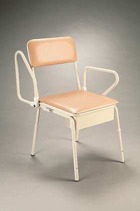 Bedside Commode Swingback Arms SWL 110kg
