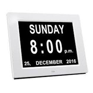 """Tab Timer 8"""" Digital Wi-Fi Weather Station Calendar Day Clock - Orientation"""