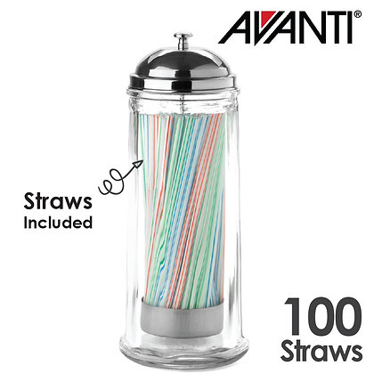 Avanti Glass Straw Dispenser