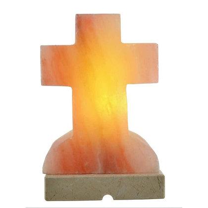 Cross Shaped Himalayan Salt Lamp