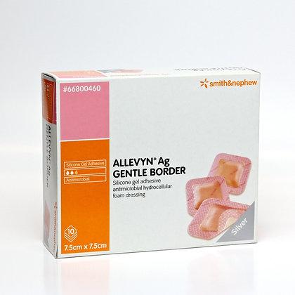 Allevyn Ag Gentle Border Dressing 7.5 x 7.5cm Box of 10