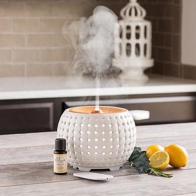 Homedics Gather Ultrasonic Aroma Diffuser - White