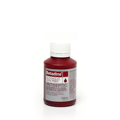 Betadine Skin Prep 100ml Each