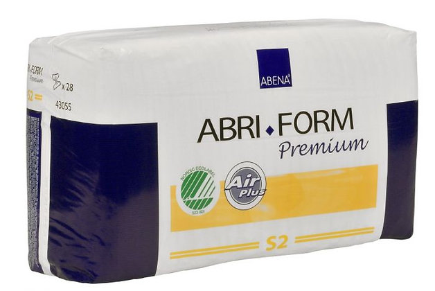 Abri Form Comfort S2 Small Small Waist 68 80cm Unisex 750ml White/ Yellow Stripe