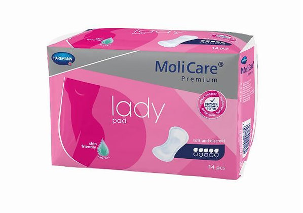 Molicare Premium Lady Pads 5 Drops 1029ml