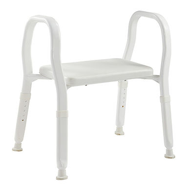 Shower Stool - Bariatric with Backrest