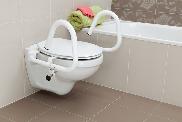 Throne Rail - 3 in 1 Toilet Support Rail SWL 110kg