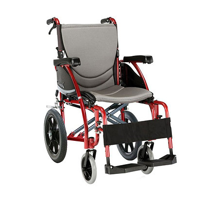 Karma S-Ergo 125 Transit Folding Wheelchair SWL 115kg