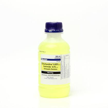 Chlorhexidine 0.05% & Cetrimide 0.5% 500ml