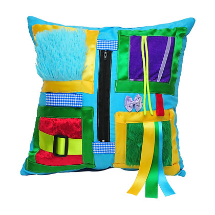 BetterLiving Sensory Cushion King Fisher Blue