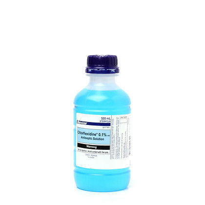Chlorhexidine Acetate 0.1% 100ml