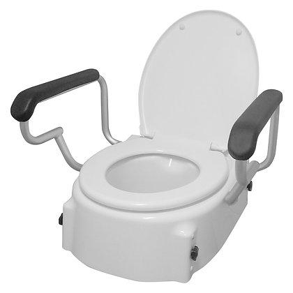 Better Living Adjustable Toilet Seat Raiser