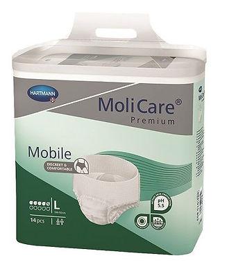 Molicare Premium Mobile 5 Drops Large Waist 100 150cm 1198ml