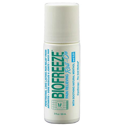 Biofreeze Pain Relieving Gel, 82g (3oz) Roll On