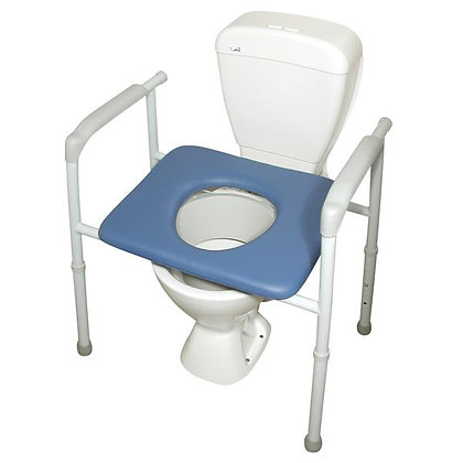 Bariatric All In One Over Toilet Aid