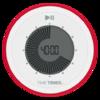 Tab Timer 90-minute TWIST® Visual Countdown Timer