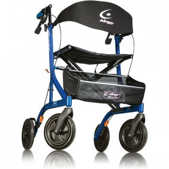 Airgo® eXcursion Tall Rollator X23 - Pacific Blue SWL 136kg