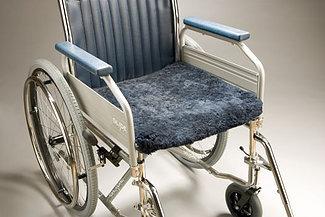 Sheepskin Wheelchair Seat Pad 46 x 46cm