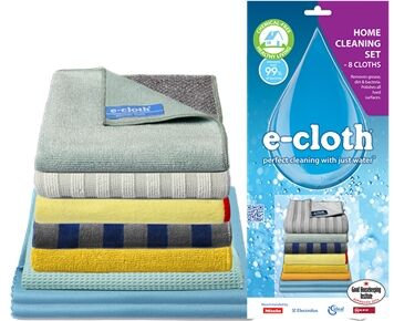 E-Cloth Home Cleaning Set of 8