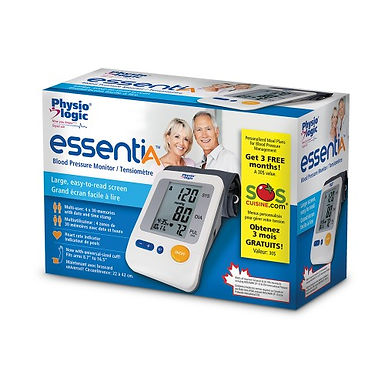 Physio Logic EssentiA Blood Pressure Monitor with Universal Arm Cuff