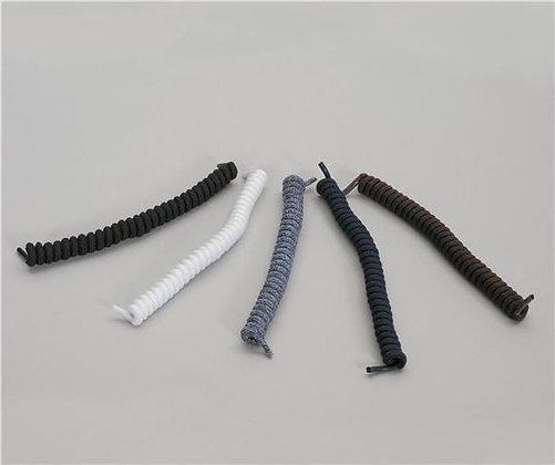 Homecraft Coiler Shoe Laces, Black, Pair