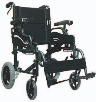 Karma Transit II Folding Wheelchair SWL130kg / 160kg