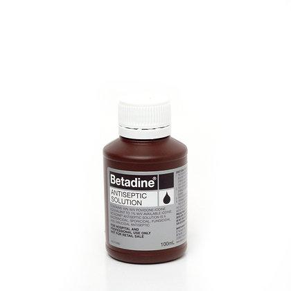 Betadine Antiseptic 100ml Bottle Each