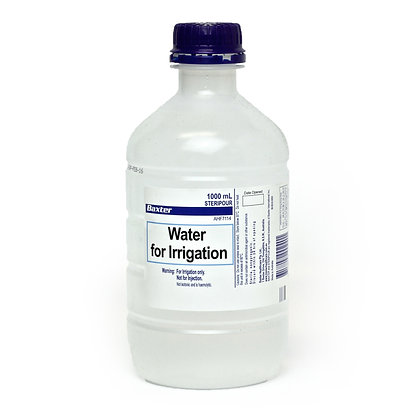 Water 1000ml Irrigating Only