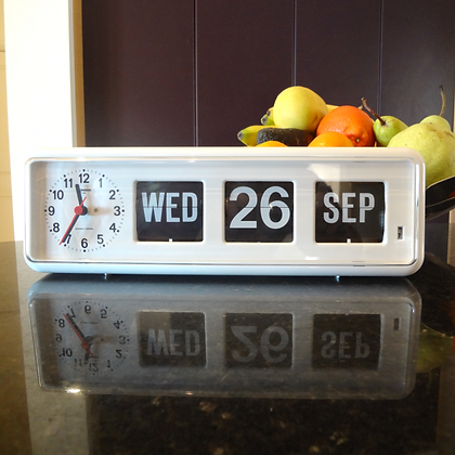 Jadco Time Long Calendar Clock JQ38