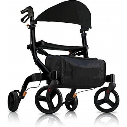 Space light 4.5 Super-Light-Weight Rollator Charcoal