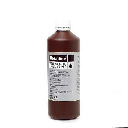 Betadine Antiseptic 500ml Each