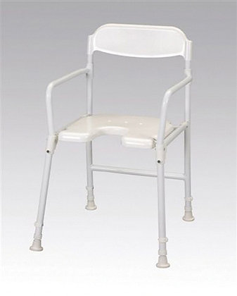 Aluminium Folding Shower Chair SWL 130kg