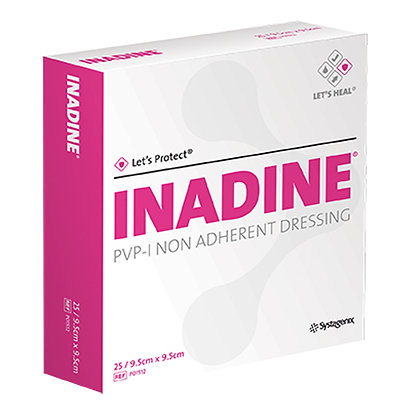 Inadine Non-Adherent Dressings 9.5 x 9.5cm Box of 25