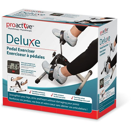 Deluxe Pedal Exerciser With Digital Display