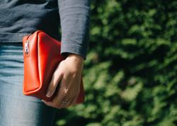 Red Make Up Bag