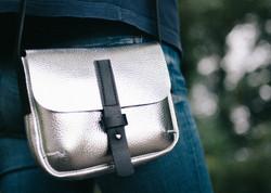 Silver Mini Alice Bag