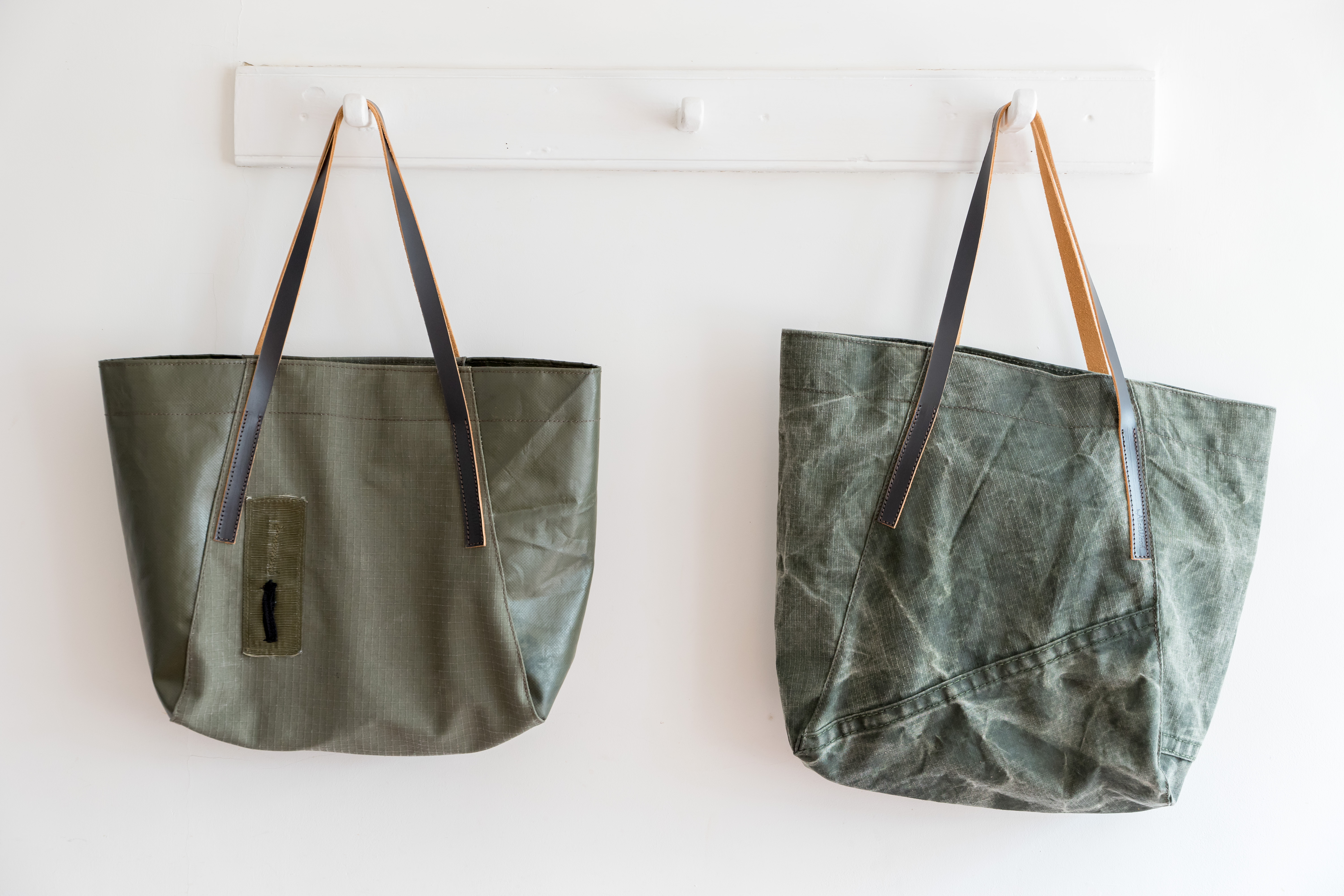 Recycled Army Tote Bag