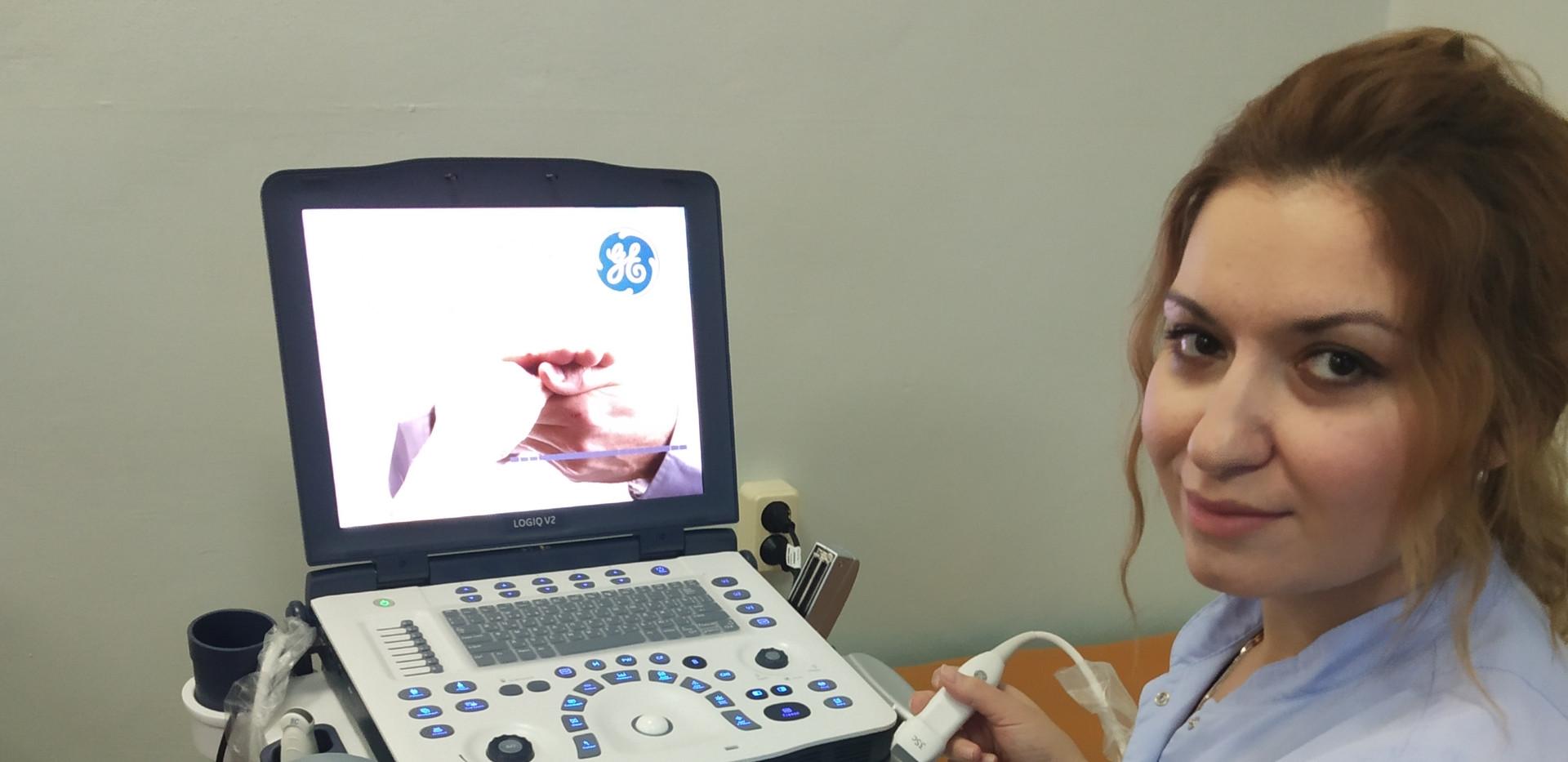 УЗИ аппарат диагностический портативный