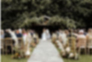 Pampas Grass Wedding Bury Court Barn