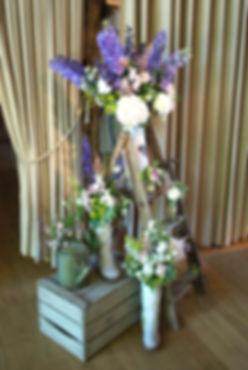 Wedding Flowers at Bury Court Barn Surrey