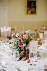 Summer Wedding Flowers at Farnham Castle