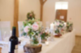 Wedding Flowers at Rivervale Barn, Photo by Charlotte Razzell Photography