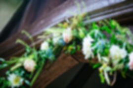 Wedding Flowers at Bury Court Barn Surrey, Photo by Sarah Legge Photography