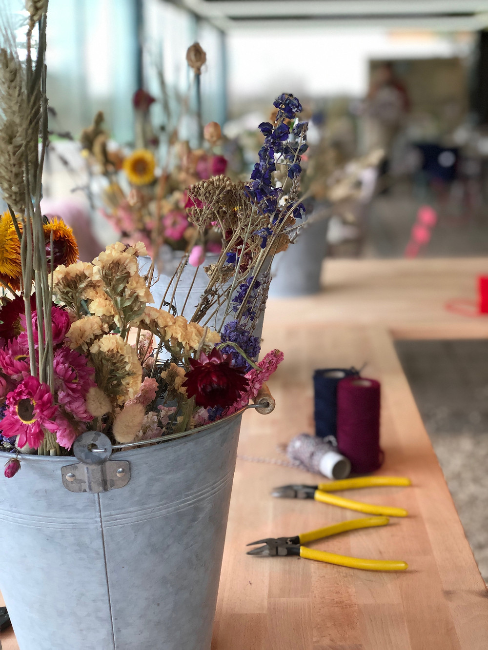Floral Workshops at West End Flower Farm with Hannah Berry Flowers | Farnham Floirst | Florist Farnham | Wedding Flowers