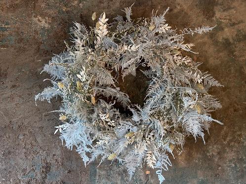 Everlasting White Wreath
