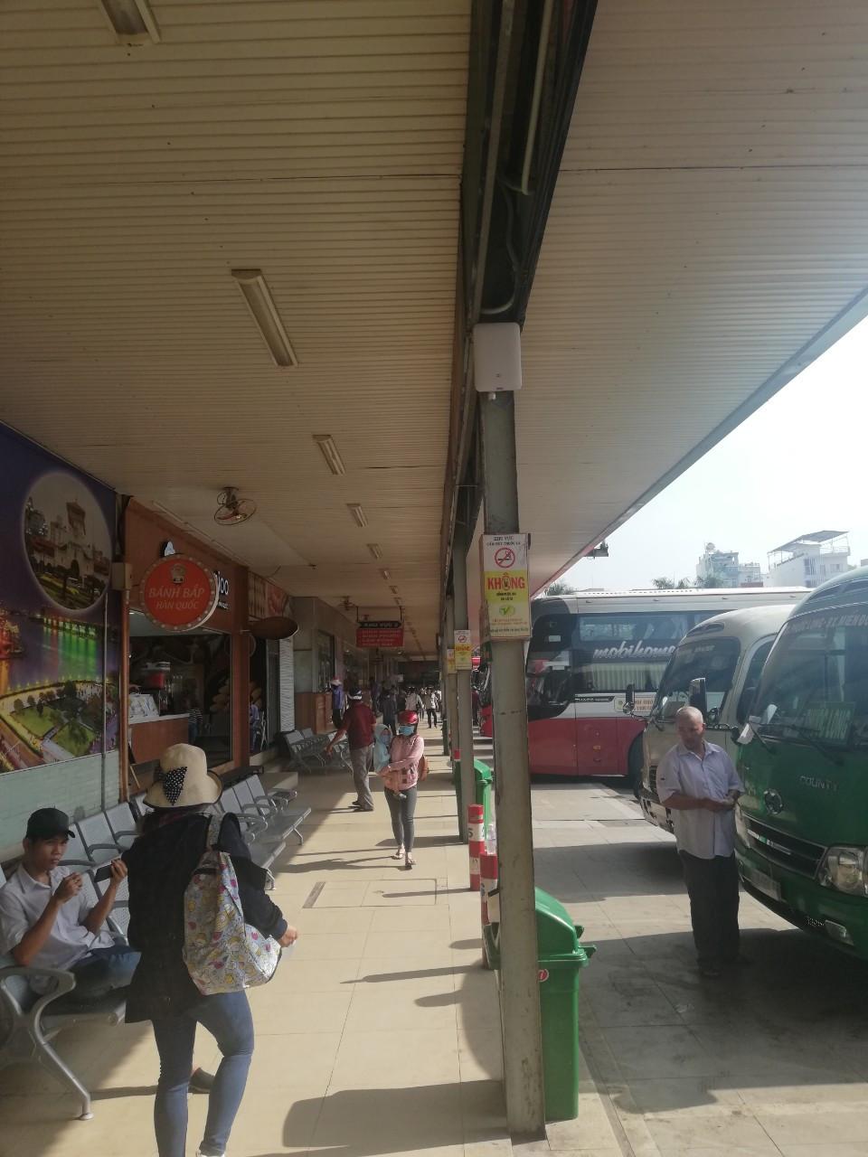Dự án Cambium Wifi tại bến xe miền đông HCM