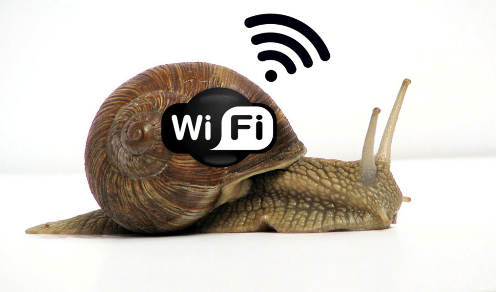 reasons make your wifi slow