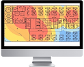Đức Sơn networks thiết kế free wifi heatmap