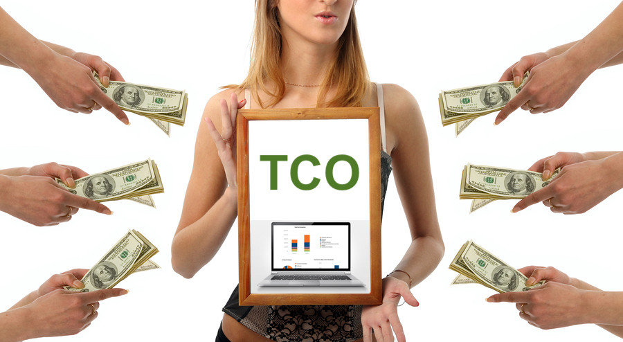 How can you use TCO Profiler to sell